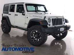 jeep rubicon white 4 door 2016 jeep wrangler suv 4 door for sale 113 used cars from 28 323