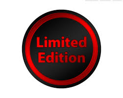 limited edition psd black and gold limited edition seals and buttons psdgraphics