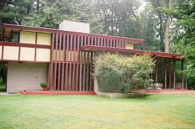 Usonian House by Penfield House Frank Lloyd Wright Foundation