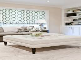 coffee tables with ottomans white ottoman table brown leather
