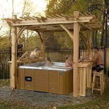 patio gazebo lowes shop outdoor living today breeze 9 ft x 9 ft x 9 ft cedar
