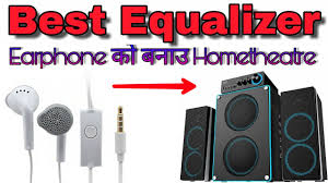 home theater equalizer make your earphone into home theatre best equalizer music