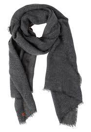 men scarves esprit scarf dark grey esprit decorum esprit duck