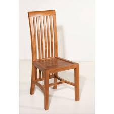chaise coloniale chaise coloniale teck miel balero bisho pier import