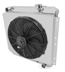 electric radiator fans and shrouds toyota fj40 land cruiser radiator aluminum 4 row chion with