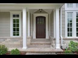 glass panels for front doors wooden front doors with glass side panels ideas youtube
