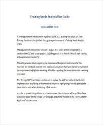 46 needs analysis examples u0026 samples