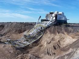 6 amazing images of dragline accidents australian mining
