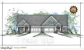multi family home plans u0026 triplex house plans design basics