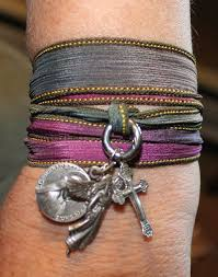 make wrap bracelet images Diy silk ribbon wrap bracelet tip junkie jpg