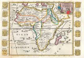 Maps Of Africa by File 1710 De La Feuille Map Of Africa Geographicus Africa