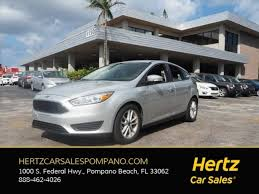 ford focus for sale 1000 used 2015 ford focus for sale near pompano fl