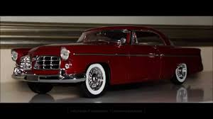 1 18 1956 chrysler 300 b red by maisto fcaminhagarage hd youtube