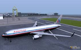 767 300 american airlines for gta san andreas