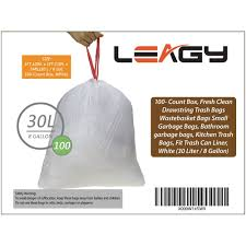 Amazoncom LEAGY Household Cleaning Health Odor Shield Kitchen - Bathroom trash bags