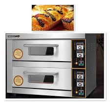 Roasting Chestnuts In Toaster Oven 220v 6kw Commercial Electric Pizza Oven Double Layer Professional