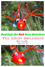 easy rudolph christmas ornament craft