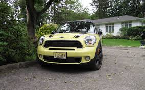 Mini Clubman Towing Capacity 2011 Mini Cooper S Countryman All4 Four Seasons Update