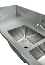sinks hand hammered copper bar trough sink kitchen prep kohler