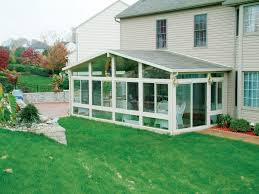 gable style sunrooms by betterliving of pittsburgh