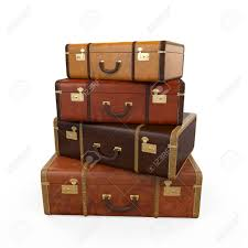 suitcases pile of vintage suitcases stock photo picture and royalty free