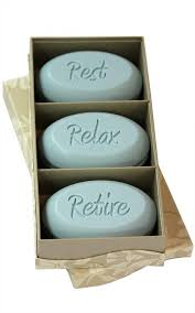 personalized soap personalized soap sentiments rest relax retire unique