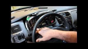 2000 Honda Accord Lx Coupe 2000 Honda Accord Instrument Cluster Display Lighting And Odometer