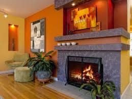 Burnt Orange Sofa  Burnt Orange Dining Room Terracotta Walls - Burnt orange dining room