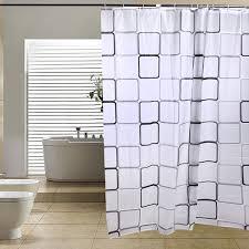Modern Bathroom Shower Curtains - aliexpress com buy phfu modern bathroom shower curtains bathroom