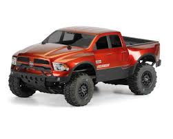 Dodge Ram 700 - true scale 2013 ram 1500 body clear slash slash 4x4 sc10 by
