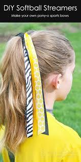 softball hair bows diy softball hair bows carla schauer designs