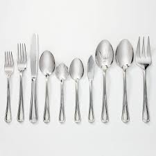 henckels international alcea 18 10 stainless steel 65 pc flatware set