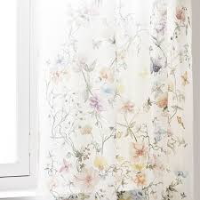Embroidered Linen Curtains Curtains Bedroom Zara Home United Kingdom