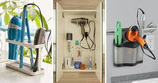 bathroom storage ideas 7 bathroom storage ideas for hair tools contemporist