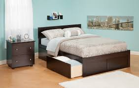 South Shore Step One Platform Bed With Drawers King Chocolate Platform Bed With Drawers King Size Platform Bed With Storage