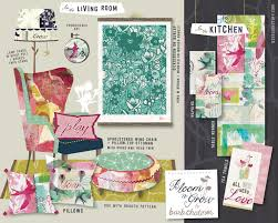 pink home decor fabric post barbchotiner bzdesignstuff