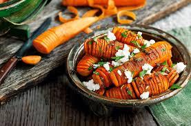 hasselback carrots healthy recipes tesco real food