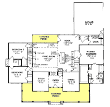 rectangular 4 br 3 bath floor plans jack and jill houseplans com