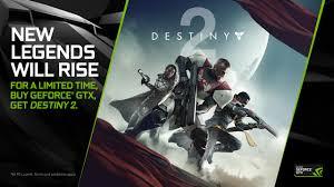 highest light in destiny 2 the geforce gtx destiny 2 bundle is back for a limited time geforce