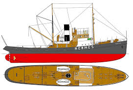 hermes steam tugboat plans model ships pinterest boating and