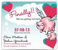Funny Save The Date Wild About These Save The Datestruly Engaging Wedding Blog