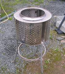 stainless steel garden incinerator patio heater from recycled