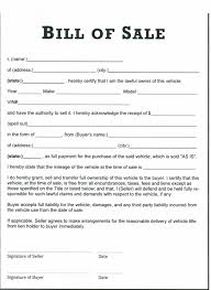 Auto Dealer Bill Of Sale Template by Printable Sle Tractor Bill Of Sale Form Laywers Template