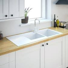 cuisine a evier cuisine blanc resine cuisine a 1 en composite evier cuisine