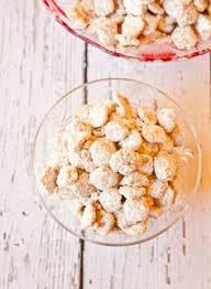 white chocolate chex mix 4 cups cheerios 4 cups rice chex 4
