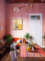 Colorful Interior 208 Best Pink Dining Rooms Images On Pinterest Pink Dining Rooms