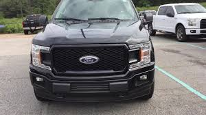 2018 ford f150 stx shadow black exterior walk around youtube