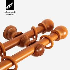 Wood Curtain Rods And Brackets Wood Curtain Rod Brackets Double Wooden Curtain Rod Double Wooden