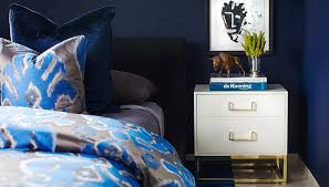 Gold And Blue Bedroom Blue And Gray Bedroom Ideas Contemporary Bedroom