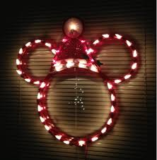 light up window decorations teacup lane my lighted christmas mickey mouse
